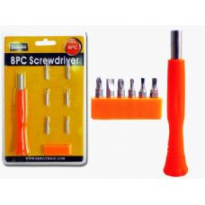 Wholesale Footwear SCREWDRIVER 8PC/SET