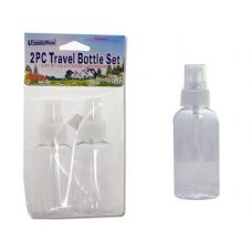 Wholesale Footwear TRAVEL BOTTLE SET 2PC PUMP