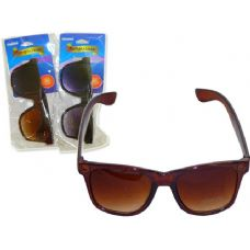 Wholesale Footwear SUNGLASSES UNISEX UV400BLACK,BROWN CLR