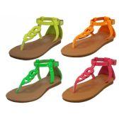 Wholesale Footwear Children Neon Colors Sandals