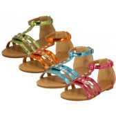 Wholesale Footwear Children's Rhinestone Studded Sandals