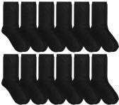 Wholesale Footwear Yacht & Smith Womens Thin Black Dress Sock, Cotton, Sock Size 9-11