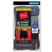Wholesale Footwear Hanes Mens Assorted Colors Boxer Brief Size L