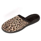 Wholesale Footwear Women's Leopard Faux Fur Slip-On