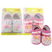 Wholesale Footwear BABY SHOE LEOPARD ROSE BOW