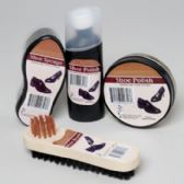 Wholesale Footwear Shoe Polish Shipper 4ast Cream & Liquid Polish, Sponge & Brush In 69pc Floor Display