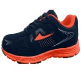 Wholesale Footwear Mens Sneakers In Blue And Orange