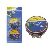Wholesale Footwear Shoe Polish 2pc Black&brown