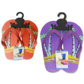 Wholesale Footwear Girl's Palm Tree Flip Flop