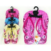 Wholesale Footwear Womens Assorted Print Flip Flop