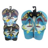 Wholesale Footwear Boys Assorted Print Flip Flop