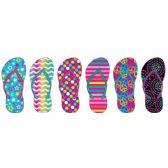 Wholesale Footwear Girl's Printed Flip Flops