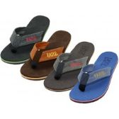 Wholesale Footwear Men's Soft Insole Flip Flops