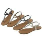 Wholesale Footwear Ladies' Fashion Sandals Assorted Colors Size 5-10