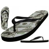 Wholesale Footwear Women's Us Dollars Printed Thong Sandals