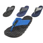 Wholesale Footwear Men's Soft Rubber Like Gel Flip Flops