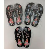 Wholesale Footwear Ladies FliP-Flops [large Flower & Butterfly]