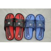 Wholesale Footwear Men's Two Tone Color Shower Beach Slipper