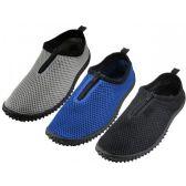 """Wholesale Footwear Men's Zipper """"wave"""" Water Shoes"""