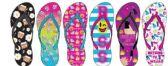 Wholesale Footwear Ladies Expression Printed Flip Flop