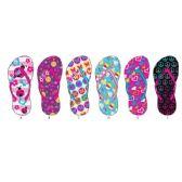 Wholesale Footwear Girls Printed Flip Flop