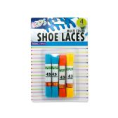 Wholesale Footwear Kids Colored Shoelaces