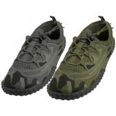 "Wholesale Footwear Men Camouflage Lace Up ""Wave"" Water shoes"