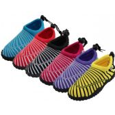"Wholesale Footwear Women's Sea Shell Print ""wave"" Water Shoe"