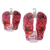 Wholesale Footwear Slipper For Girl 6asst Color size 6-10