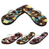 Wholesale Footwear Ladies Flip FlapS--Camo