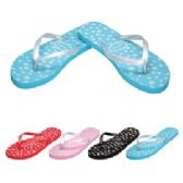 Wholesale Footwear Ladies Flip FlapS--Little Flowers