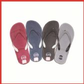 Wholesale Footwear Mans Solid Color Flip Flops
