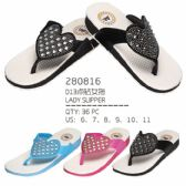 Wholesale Footwear Woman's Fashion Flip Flops