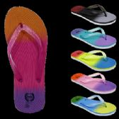 Wholesale Footwear Womans Multicolor Flip Flop