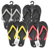 Wholesale Footwear Men Flip Flop Heavy Duty Assorted Colors