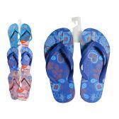 Wholesale Footwear Girls Printed Flip Flops
