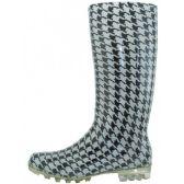 Wholesale Footwear Women's 13.5 Inches Water Proof Rubber Rain Boot