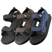 Wholesale Footwear Men's Velcro Strap Sandals