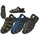 Wholesale Footwear Men's Hiker Velcro Sandals