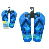 Wholesale Footwear Boy's Flip Flop 3 Asst Size 11-3