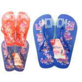 "Wholesale Footwear ""LOVE"" PRINT FLIP FLOP SIZE 6-10"