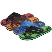 Wholesale Footwear Men's Foam Flip Flop