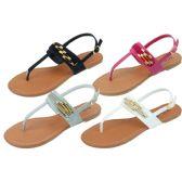 Wholesale Footwear Ladies' Fashion Sandals Size 5-10