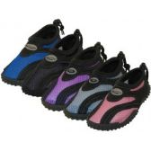 "Wholesale Footwear Children's ""Wave"" Aqua Socks in Assorted Colors"