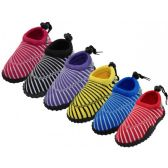 "Wholesale Footwear Youth Sea Shell Print ""Wave"" Water Shoes"