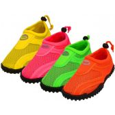 Wholesale Footwear Youth Neon Color Aqua Sock