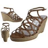 """Wholesale Footwear Women's Trappy With 3 3/4"""" Wedge Buckle Strap Sandals (tan Color Only)"""