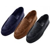 Wholesale Footwear Wholesale Men Closed Back Corduroy Slippers