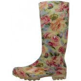 Wholesale Footwear Women's 13.5 Inches Water Proof Soft Rubber Rain Boots