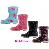 Wholesale Footwear Wholesale Children's Printed Rain Boots